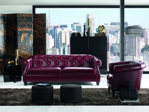 Contemporary Living Room Chairs 2384 by Natuzzi::Denmark Interiors