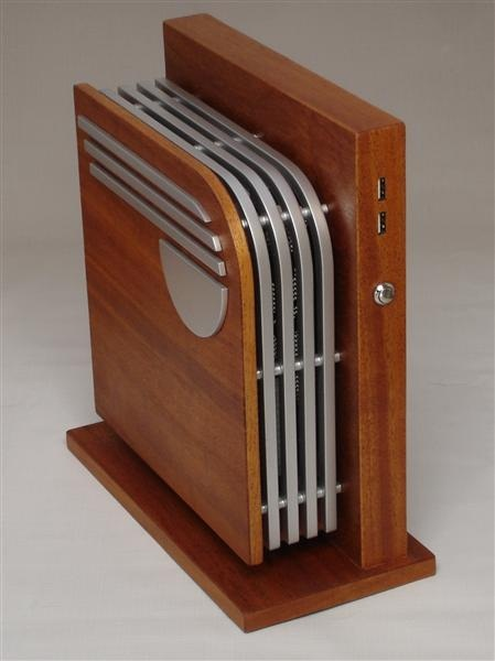 Luxury high end wood pc lussorian for Design case