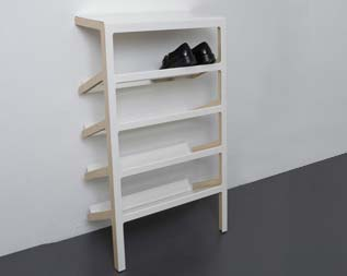 A very cool shoe rack – the Mila. - Lussorian