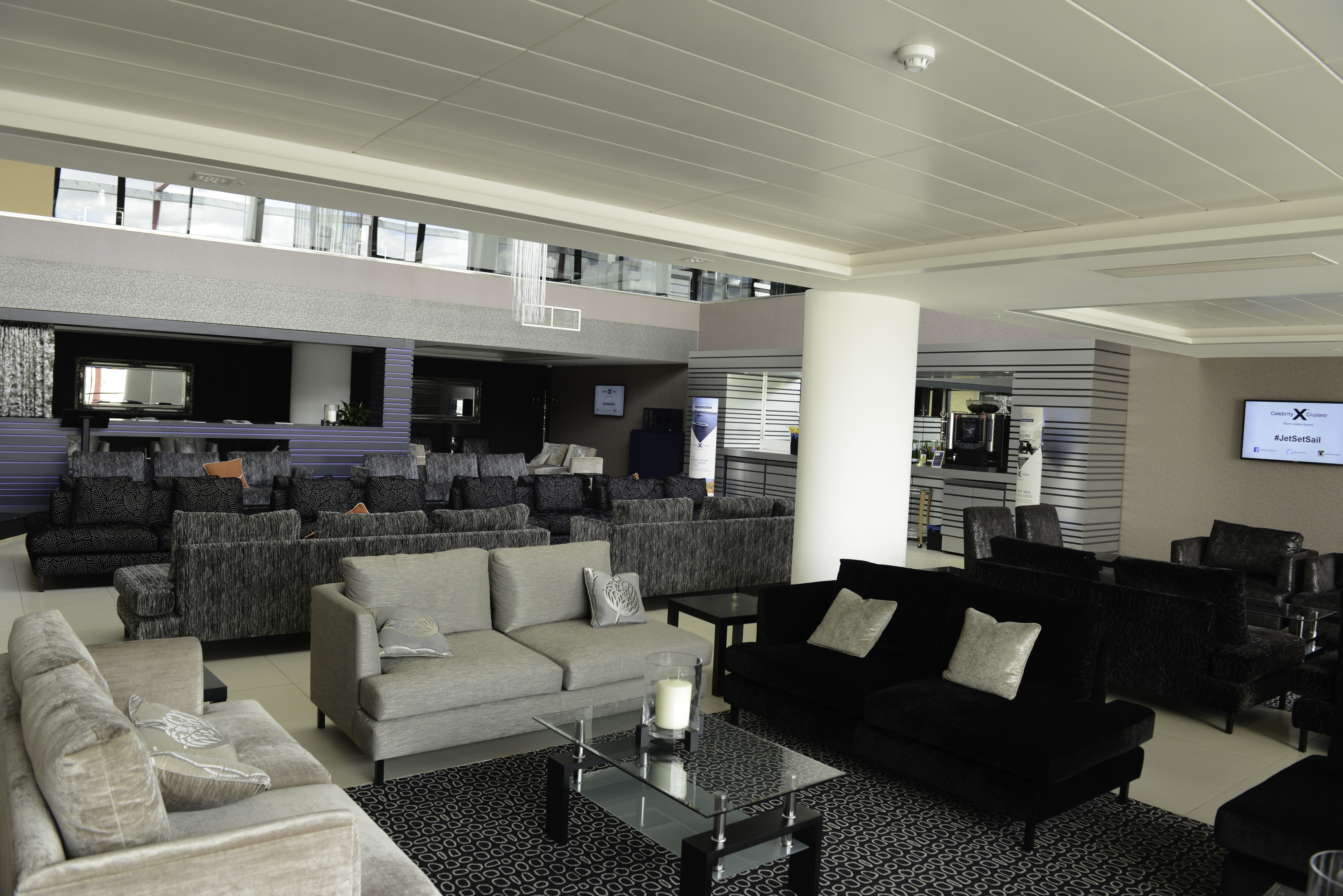 Celebrity Cruises Jet Set Sail Launch. Inflite the Jet Centre. Stansted Airport.