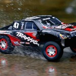 The ultimate off road RC car Traxxas Slash with On Board Audio