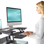Could stand-up desks be the solution for office fitness?