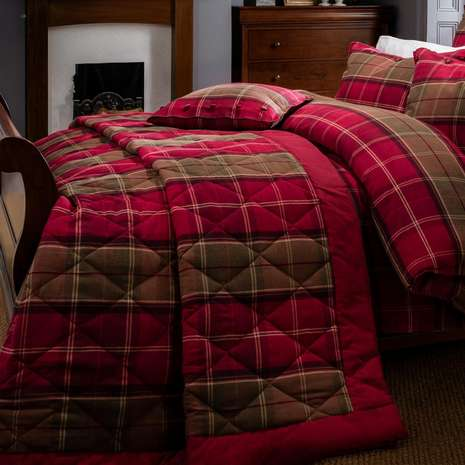 Tartan Bedding And Curtains Home The Honoroak